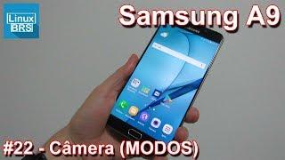 Neste vídeo os modos para câmera com o Samsung Galaxy A9 2016. Se i...