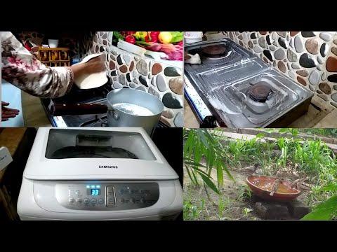 Pakistani Morning kitchen Breakfast routine ||stove cleaning ||pakistani mom | Mishi vlogs.
