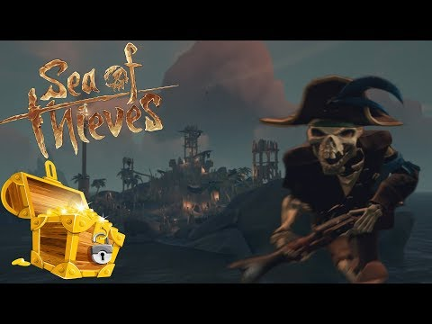 TAKING OVER THE SKELETON FORT! | Sea of Thieves #5