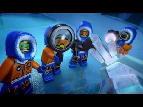 """Мультфильм LEGO City """"Исследуй Арктику"""""""