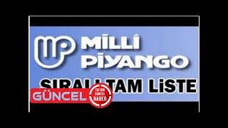 19 Ağustos Milli Piyango sonuçları sıralı tam listesi - Milli Piyango bilet sorgulama