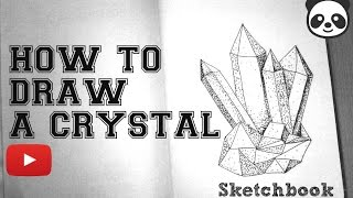 HOW TO DRAW A CRYSTAL