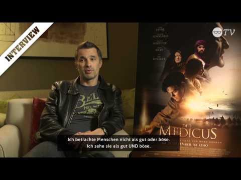 """C2W Interview: Olivier Martinez, Stellan Skarsgård (""""Der Medicus"""")"""
