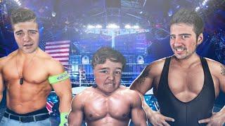 Las Mejores SuperEstrellas De La WWE !! Con Mis Primos | WWE2K16 - ElChurches