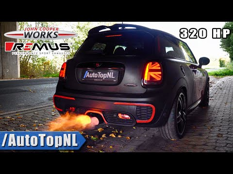 320HP MINI JCW | DECAT STRAIGHT PIPE | FLAMES & SOUND By AutoTopNL