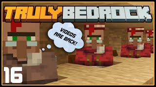 Ep 16: Villagers LOVE Minecraft Videos! | TrulyBedrock SMP: Season 1