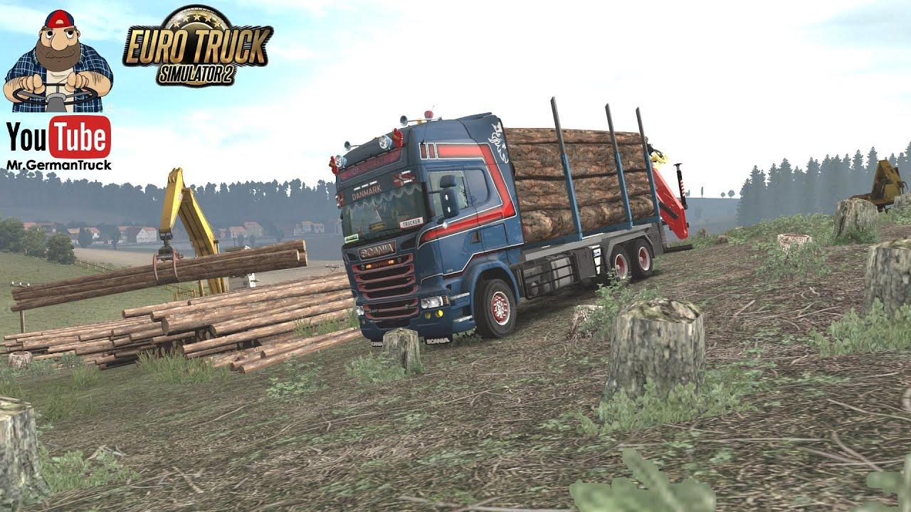 [ETS2 v1.36] Scania RJL Rigid Forest Parts Addon