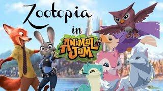 Zootopia in Animal Jam??!!