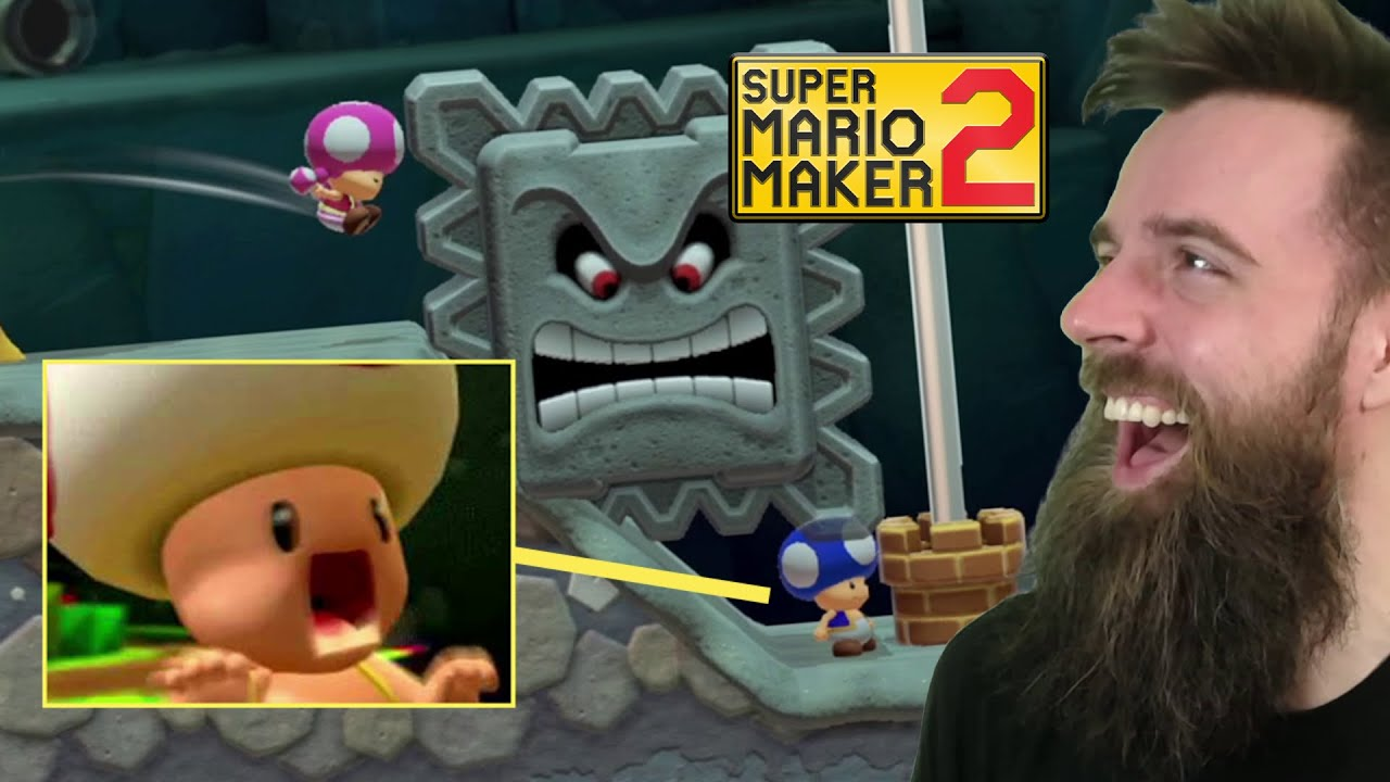 This is Absolutely Disgusting and Outrageous. [SUPER MARIO MAKER 2]