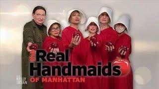The Real Handmaids of Manhattan