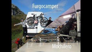 DIFERENCIAS viajar en FURGOCAMPER o viajar MOCHILERO - Nuestra Experiencia - EL MONO MIGRADOR/