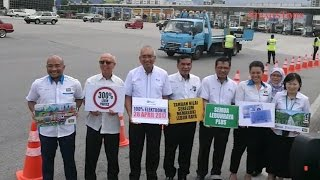 All toll plazas along PLUS Highway go 'cashless' today