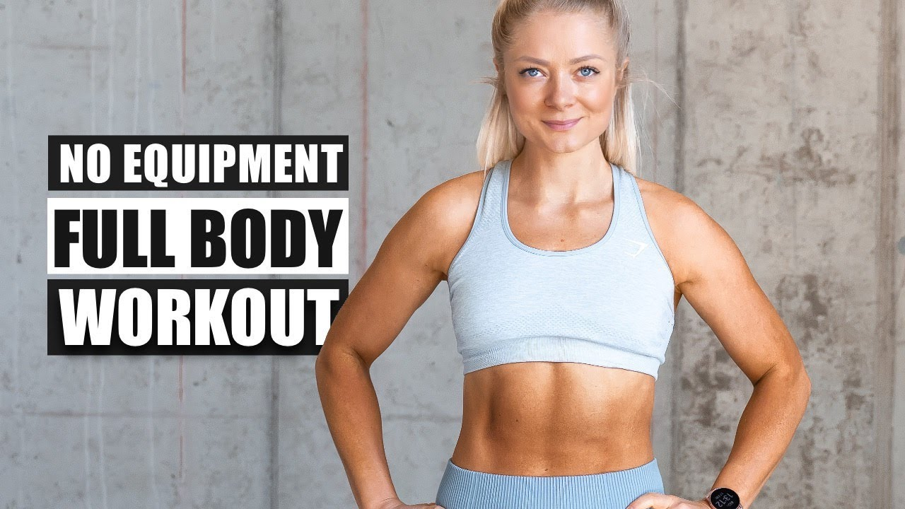 WORKOUT OF THE DAY  | FULL BODY HOME STRENGTH WORKOUT  | No Equipment needed + Warm Up