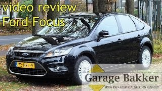 Video review Ford Focus 1.6 16v Titanium, 2008, 72-HFL-9