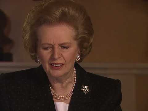BBC Thatcher The Downing Street Years 1of4 Woman at War