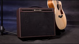 MOOER SD50A ACOUSTIC AMPLIFIER Official Demo