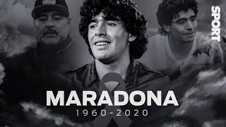 MUERE DIEGO ARMANDO MARADONA 💔 EL ARGENTINO, GENIO DEL FÚTBOL MUNDIAL, NOS DEJA A LOS 60 AÑOS 🇦🇷