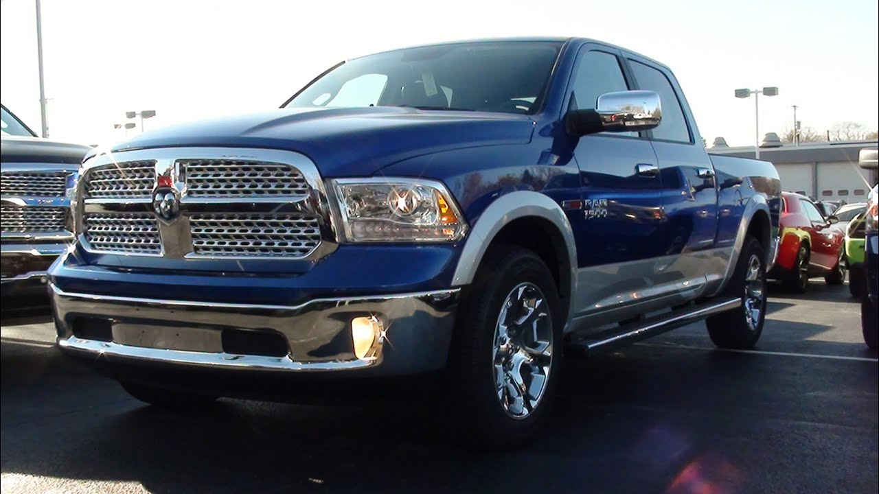 mvs 2016 ram 1500 laramie 4x4 youtube. Black Bedroom Furniture Sets. Home Design Ideas