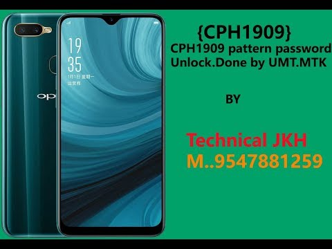 CPH1909 Oppo A5s Password/pattern Unlock Done By UMT