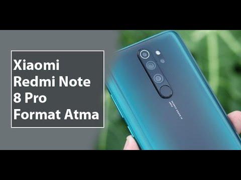 Xiaomi Redmi Note 8 Pro Format Atma Hard Reset