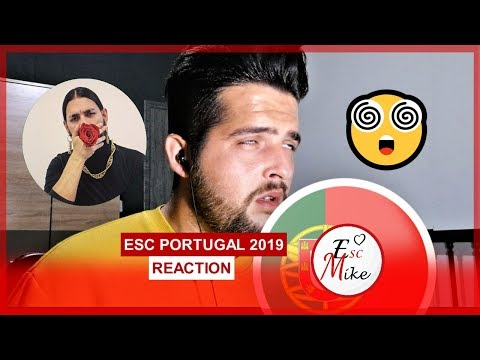 Eurovision Portugal 2019 - REACTION [Conan Osíris - Telemóveis]