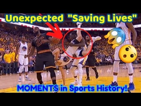 """""""Saving Lives"""" moments in sport History😮🔥"""
