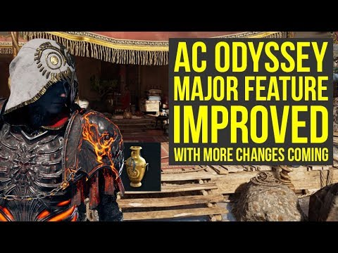 Assassin's Creed Odyssey MAJOR SYSTEM Improved With More Changes Coming (AC Odyssey thumbnail