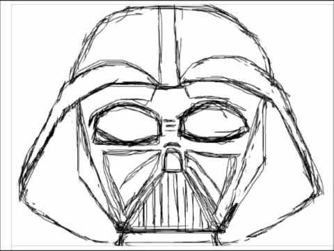 Drawing Darth Vader - YouTube