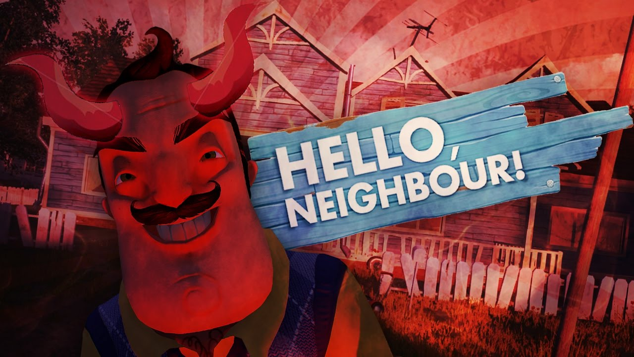 HE IS THE DEVIL and SHRINKING!! (Hello Neighbor Alpha 2 / Hello