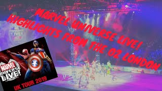 Marvel Universe Live! | The O2 London | Disney Avengers + Guardians of the Galaxy on stage!