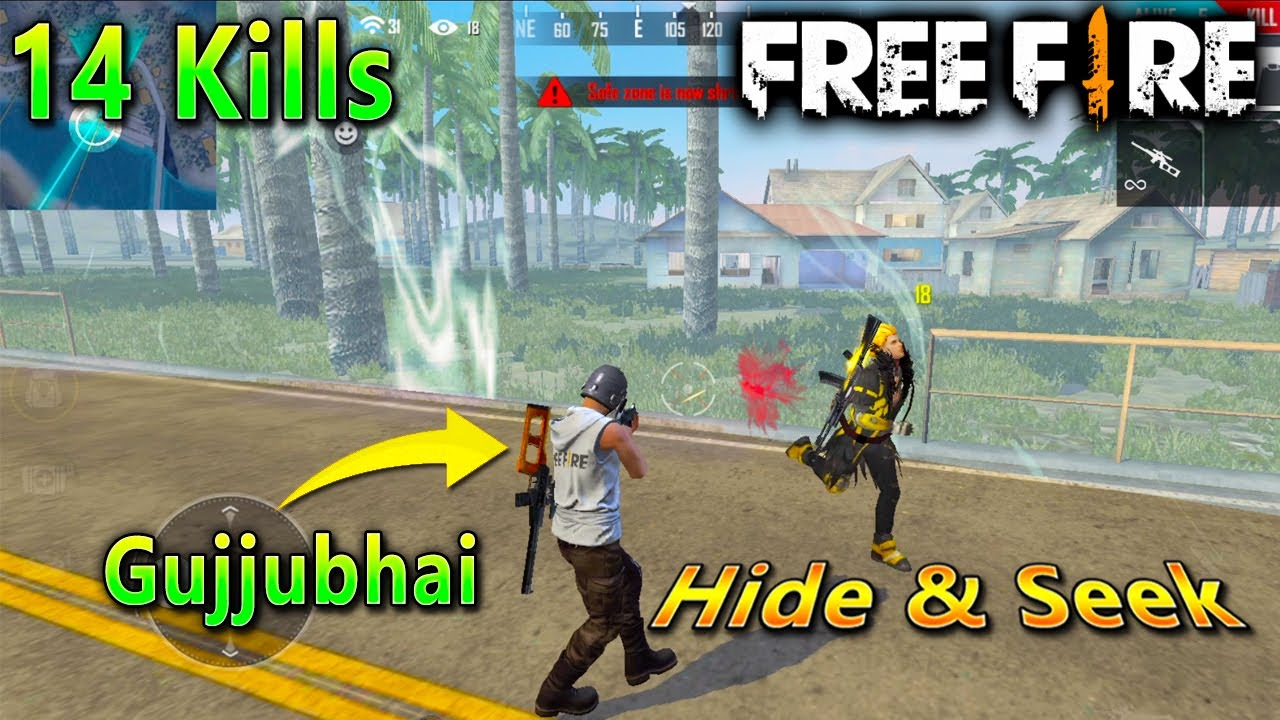 Garena Free Fire Hide and Seek in Shipyard | Bollywood Lessons