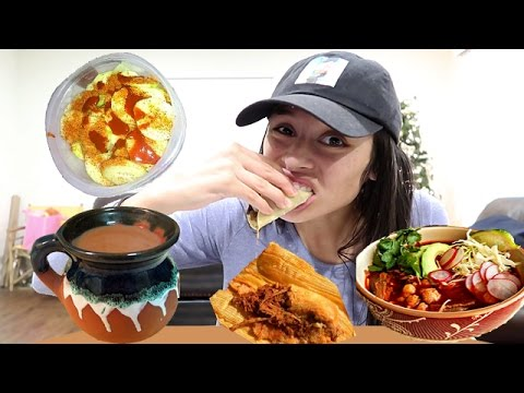 MEXICAN FOOD MUKBANG! (Eating Show) Watch Me Eat! 먹방