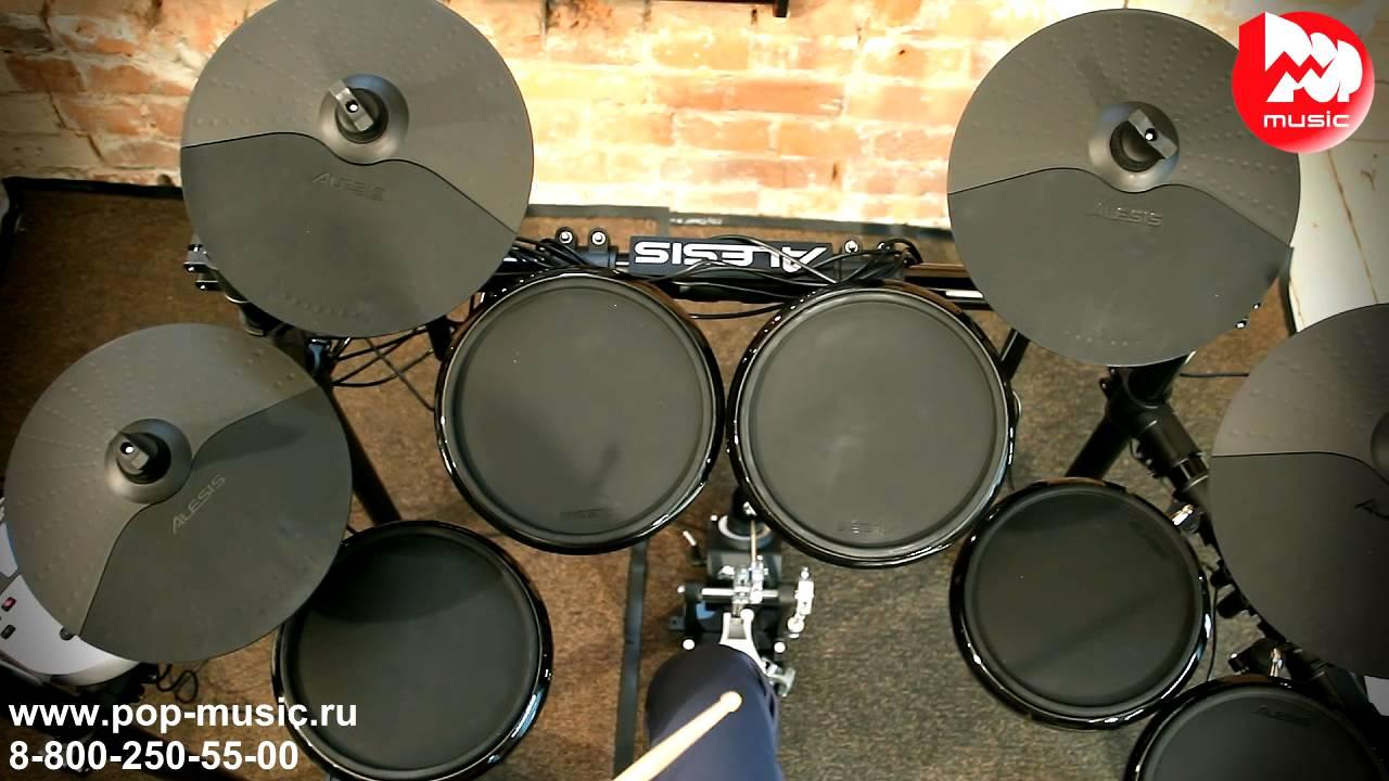 Барабанная установка YAMAHA GM2F5 BLACK (GIGMAKER) - YouTube
