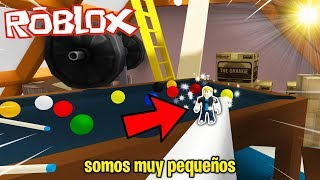 💥SOMOS LOS M'S PEQUE-OS DE ROBLOX! 🤯 | VERSTECKEN UND SUCHEN | Rollenspiel