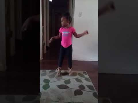 Curstin's World, 4 years old doing ju ju on that beat in heels