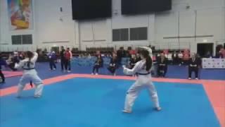 ЧиП Москвы Русский Воин Taekwon Do