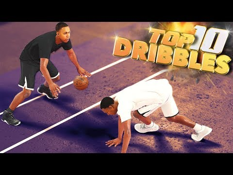 TOP 10 LUCKY Ankle Breakers & Deadly Crossovers - NBA 2K18 Highlights