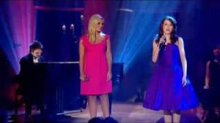 Faryl Smith & Katherine jenkins singing Amazing Grace
