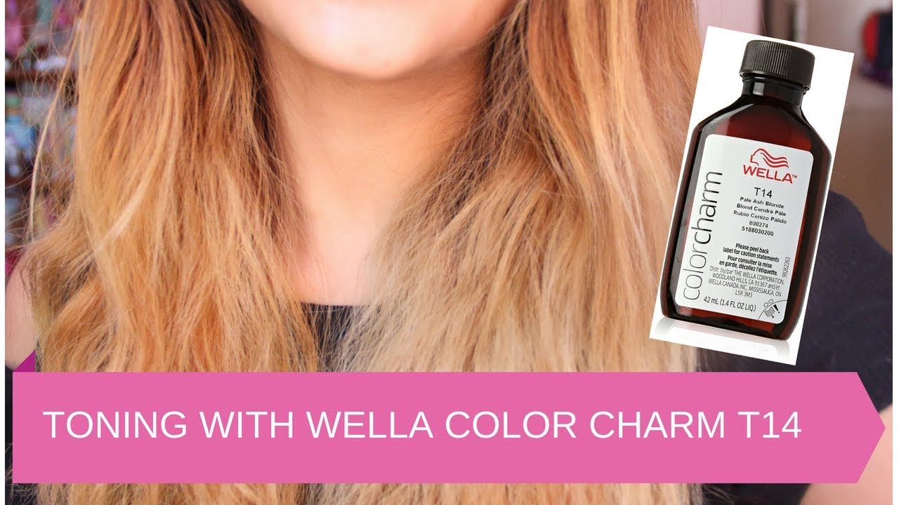 Toning Bry Hair With Wella T14 Color Charm Toner