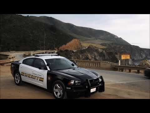 Monterey County Sheriff's Office Vehicle Pursuit Scanner Audio 1/17/19