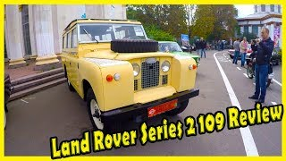 Classic Cars form the 1970s. Old UK Vehicle Land Rover 109 Series II a 1967 Review.