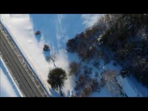 Winter Scenes in Plainfield, New Hampshire