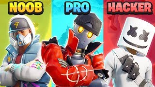 Vs HACKER PRO NOOB-Fortnite (notável)