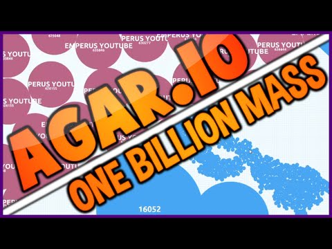 AGARIO WORLD RECORD 1,000,000,000 1 BILLION PRIVATE SERVER - AGAR.IO 60 FPS