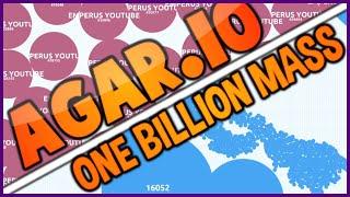 AGARIO WORLD RECORD 1,000,000,000 1 BILLION PRIVATE SERVER - AGAR.IO 60 FPS