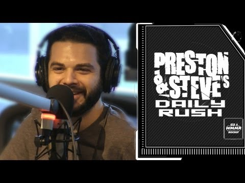 Samm Levine says Quentin Tarantino sleeps standing up  Preston & Steve's Daily Rush