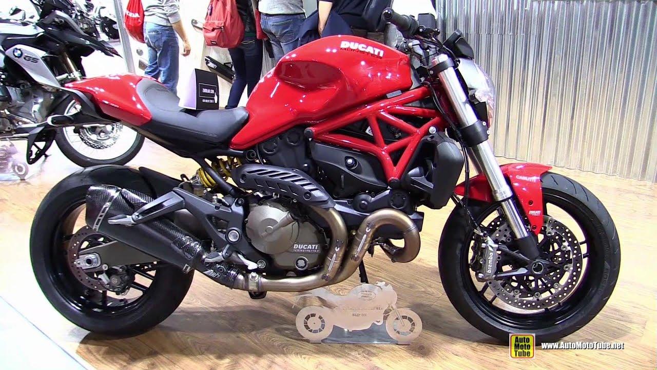 Ducati Monster 821 >> 2015 Ducati Monster 821 with Slip-on Exhaust Kit by Zard ...