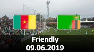 Cameroon vs Zambia - International Friendly - PES 2019