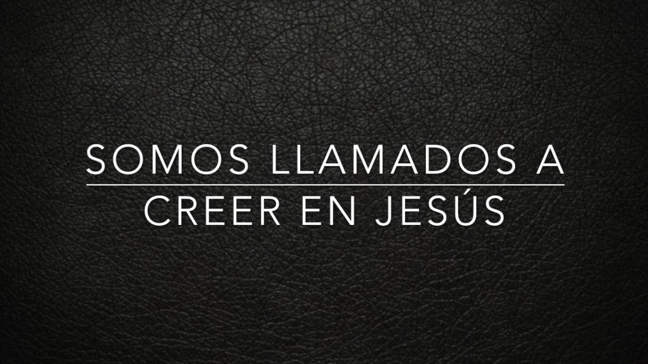 Somos llamados a creer en Jesús.Pastor Marco Angles - YouTube