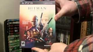 Hitman HD Trilogy Limited Edition - PS3 Unboxing
